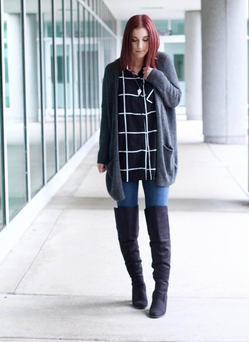 Check it Out Again: The Grid Print Blouse Part 2 // She Saw Style
