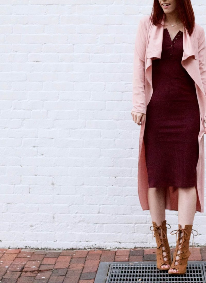Rosé All Day: A Glamorous Pink Look // She Saw Style