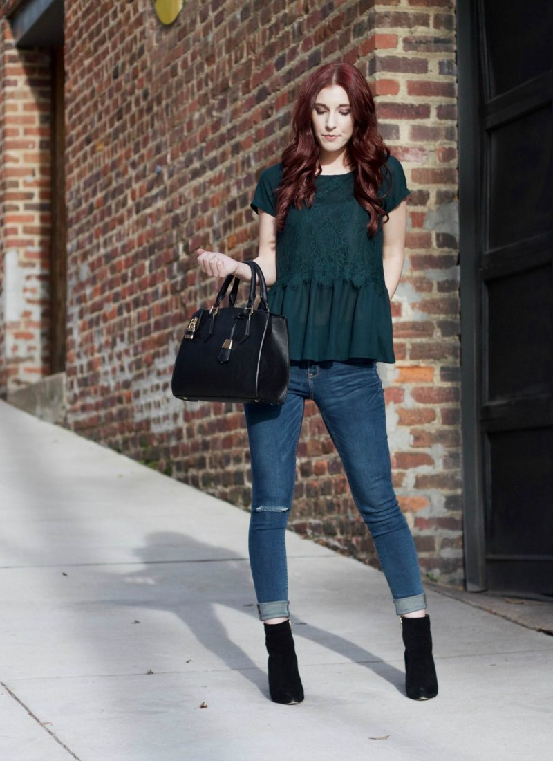 One Short Day in the Emerald City: A Top For Warmer Winter Days // She Saw Style