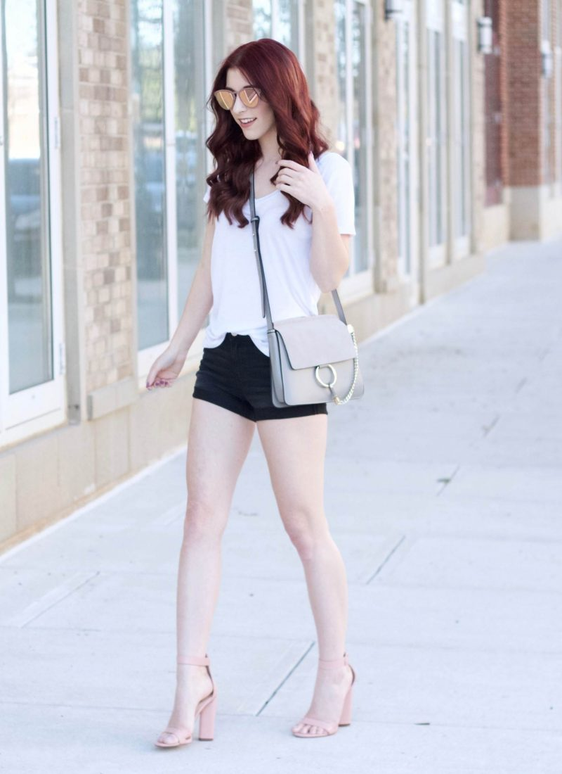 Basically Luxe: Dressing Up a White Tee