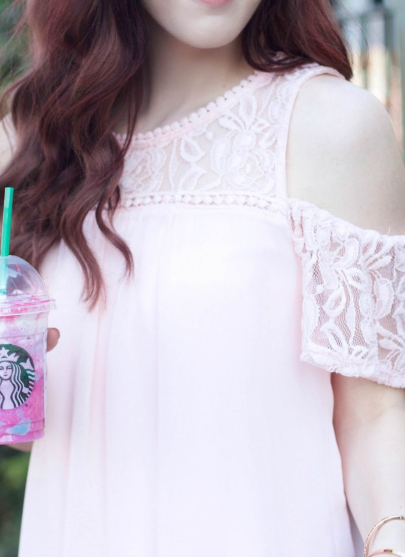 The Unicorns Made Me Do It: A Pink Dress and the Unicorn Frappucino