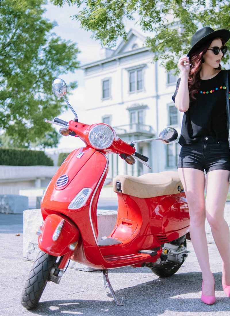 Let's Take a Ride: How To Wear Black For Spring
