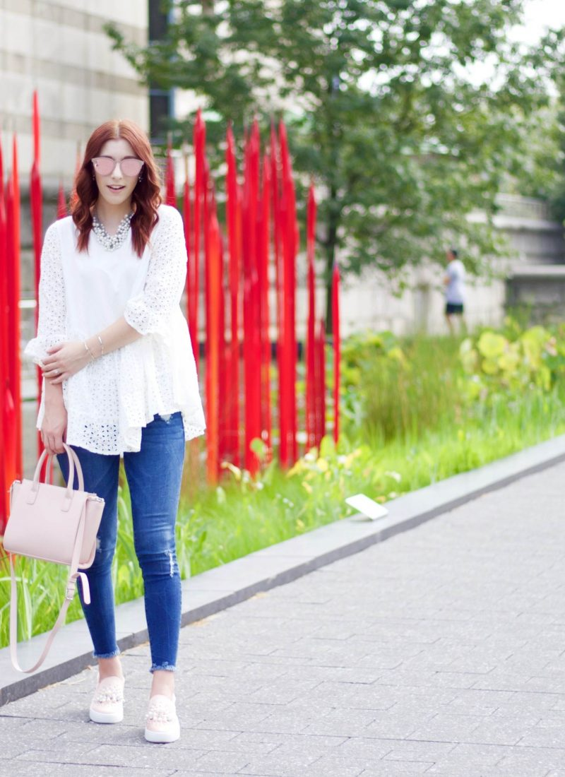 Chic AF in White After Labor Day