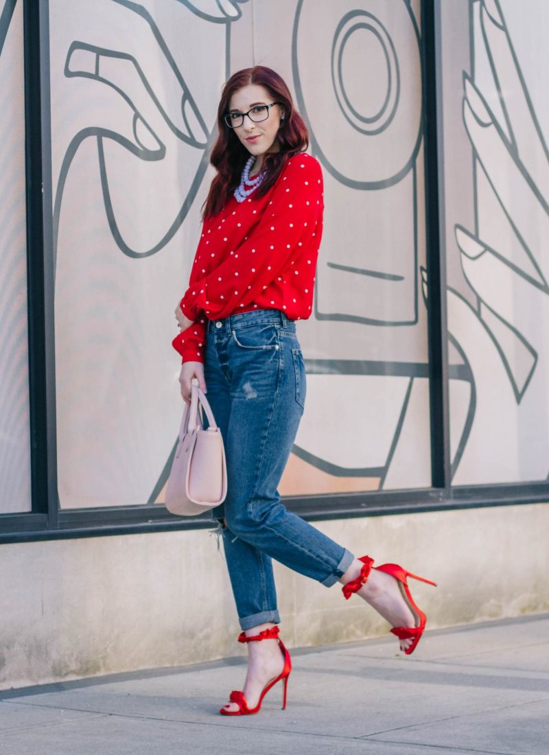 One Way to Rock Red After Valentine's Day