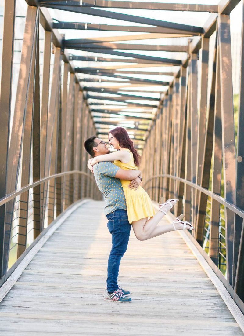 Summer Engagement Photos + Our Love Story