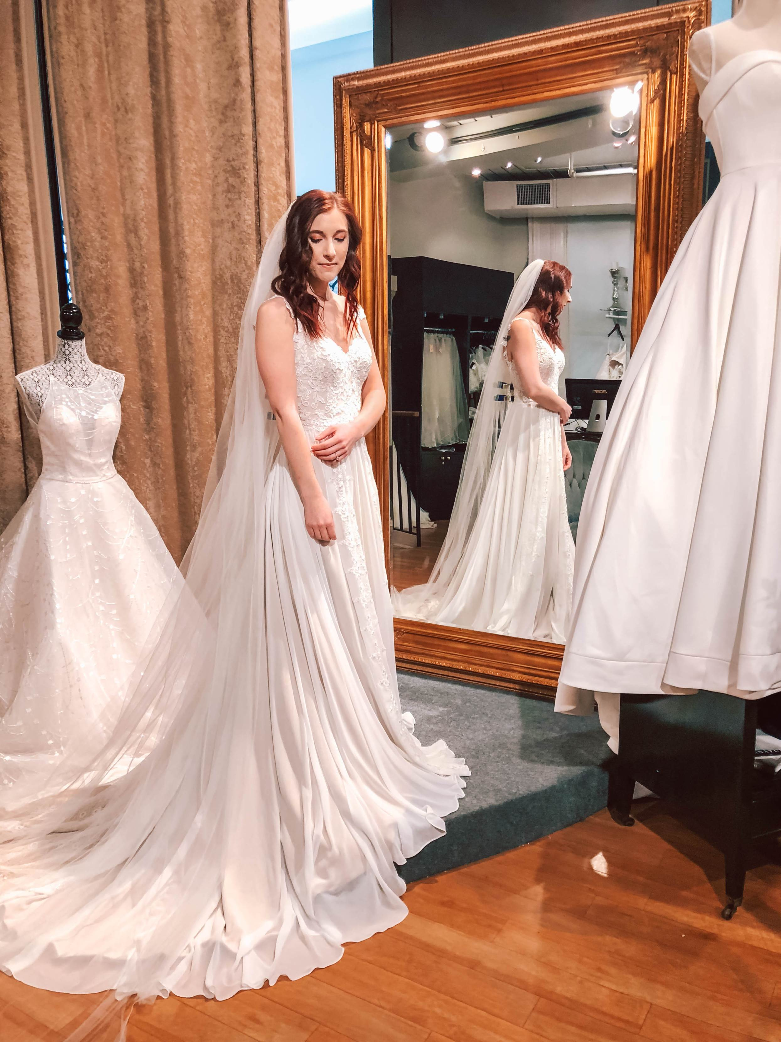 What Statement Should Your Wedding Gown Make?