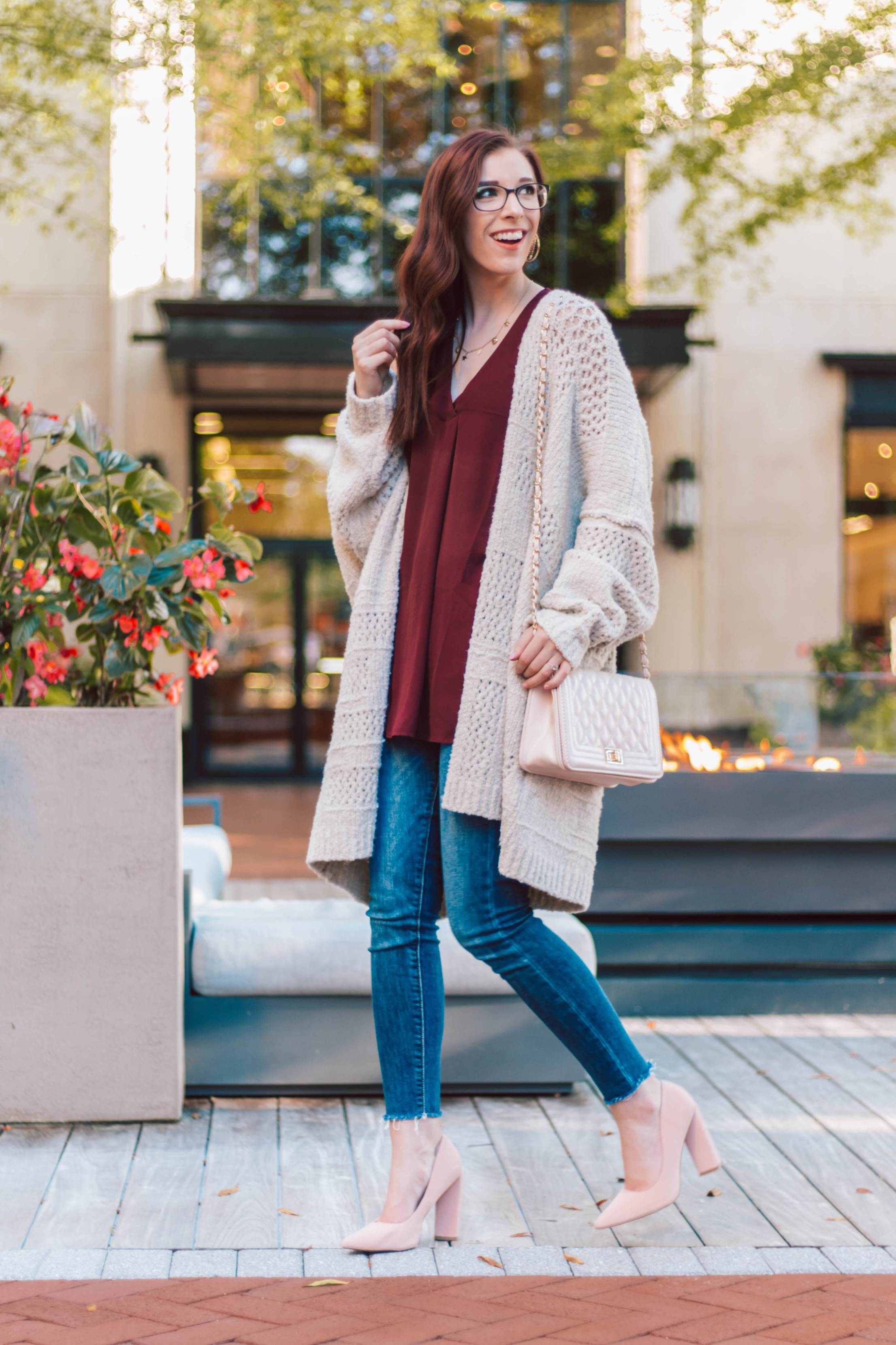 The Coziest Casual Valentine's Day Outfit