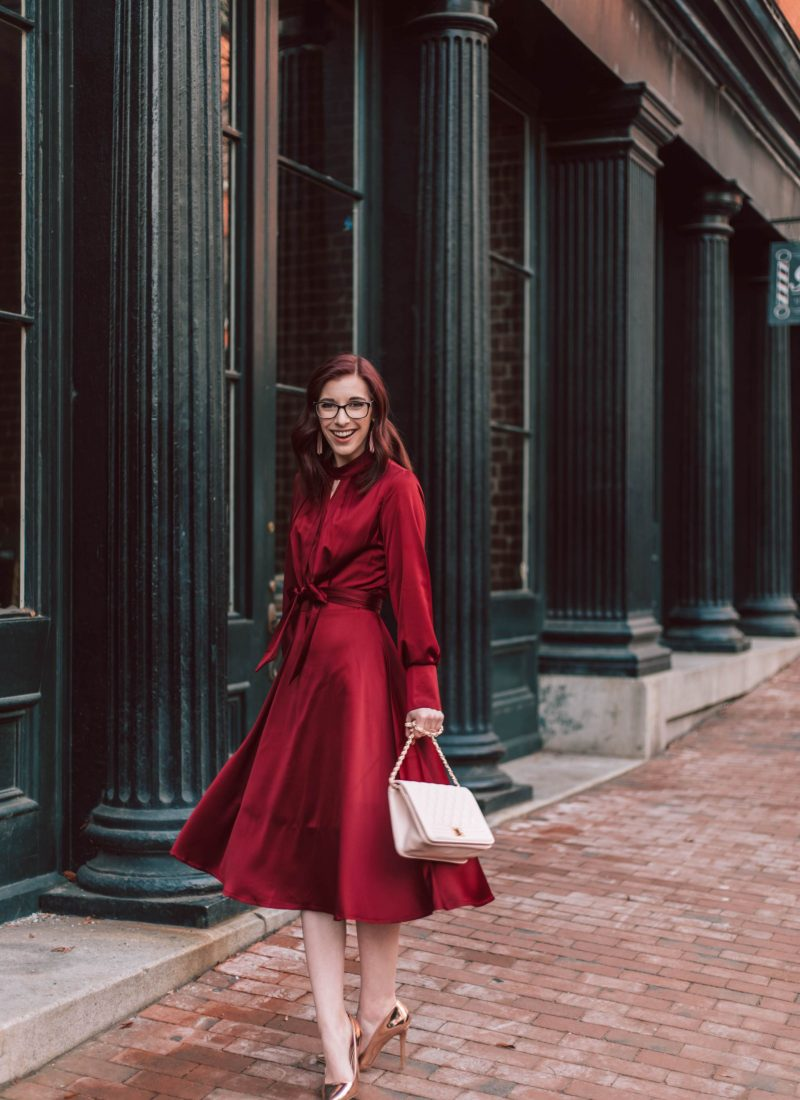 Elegant And Chic Valentines Day Outfit Inspiration