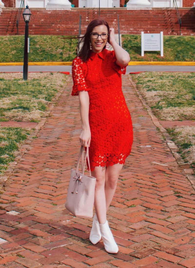 The Perfect Red Dress for All Your Spring Occasions