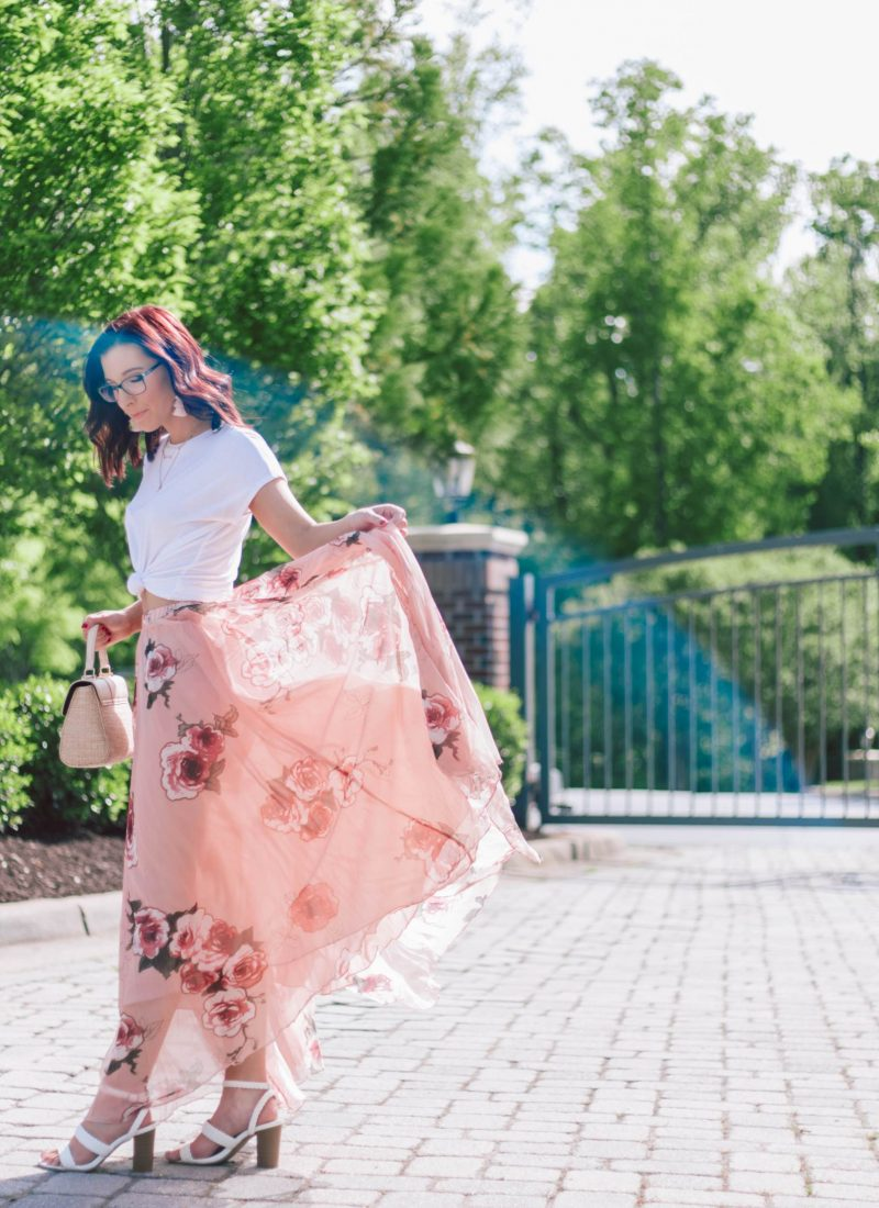 The $50 Showstopping Maxi Skirt You Need This Spring | She Saw Style