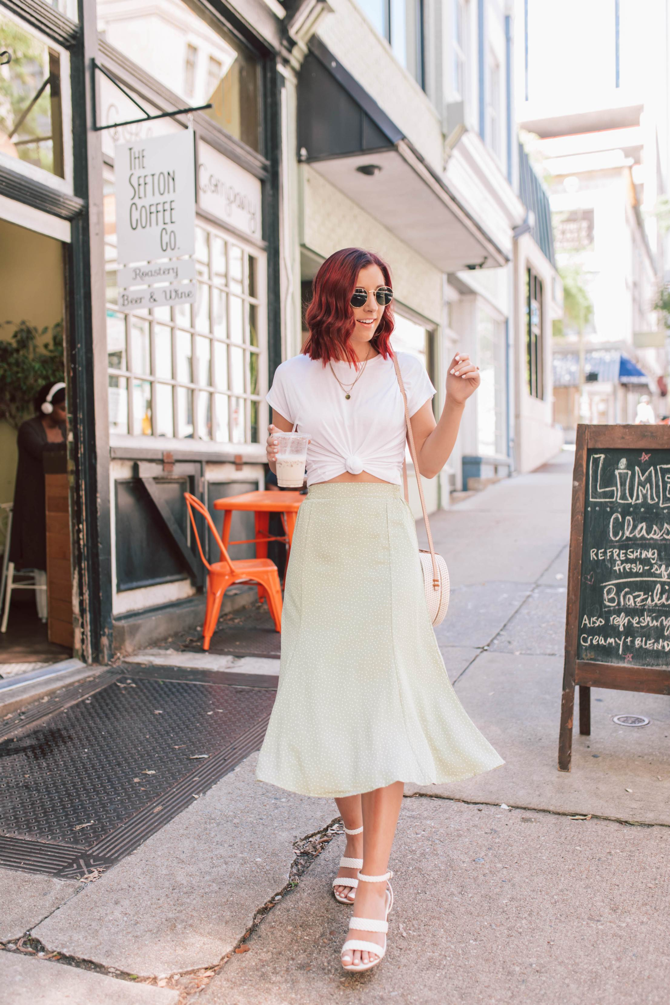The Midi Skirt Outfit You'll Want to Wear Right Away