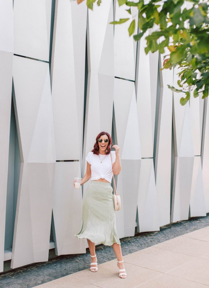 A Summer Midi Skirt Outfit You Can Copy Right Now | She Saw Style