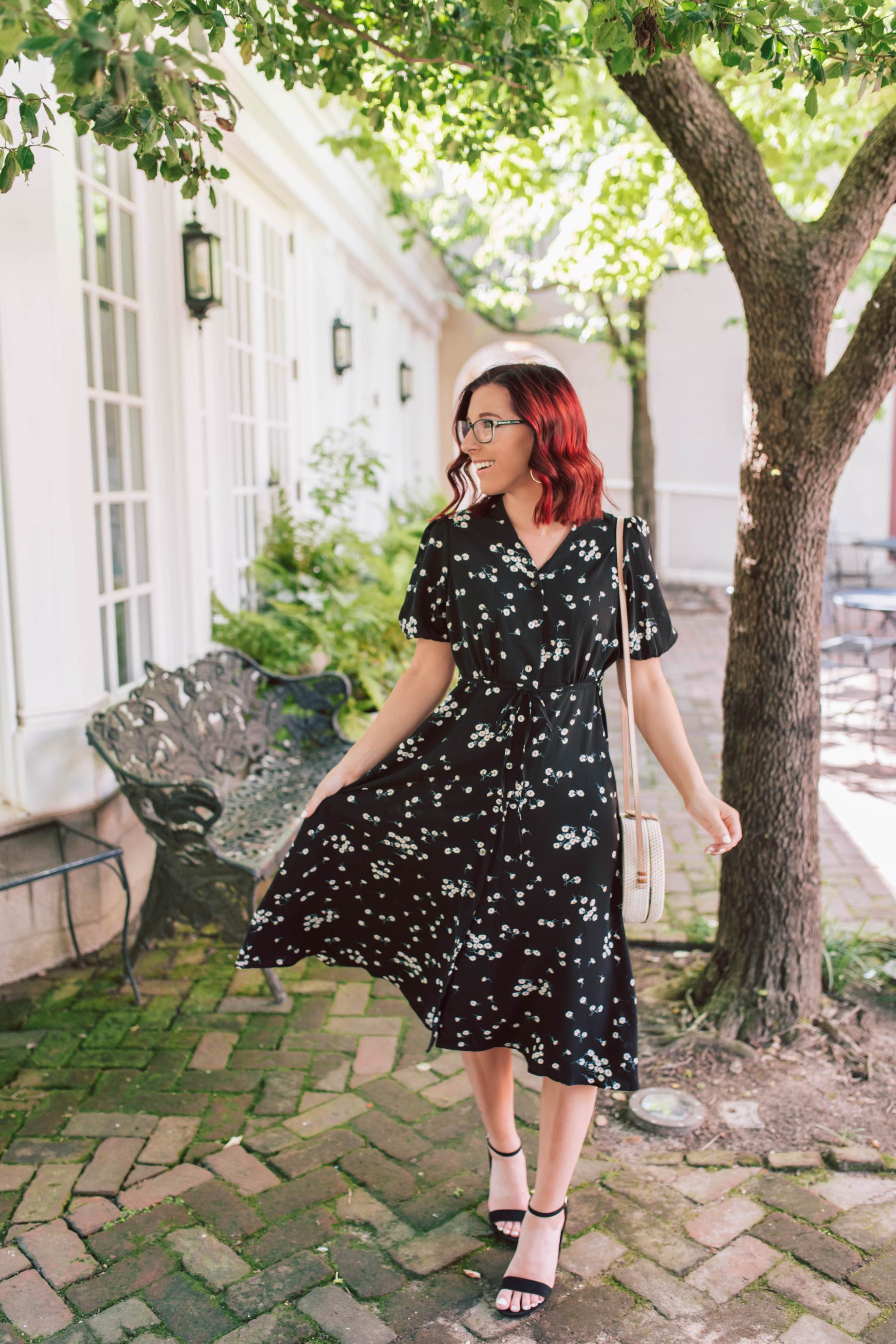 A Twist On The Typical Little Black Dress
