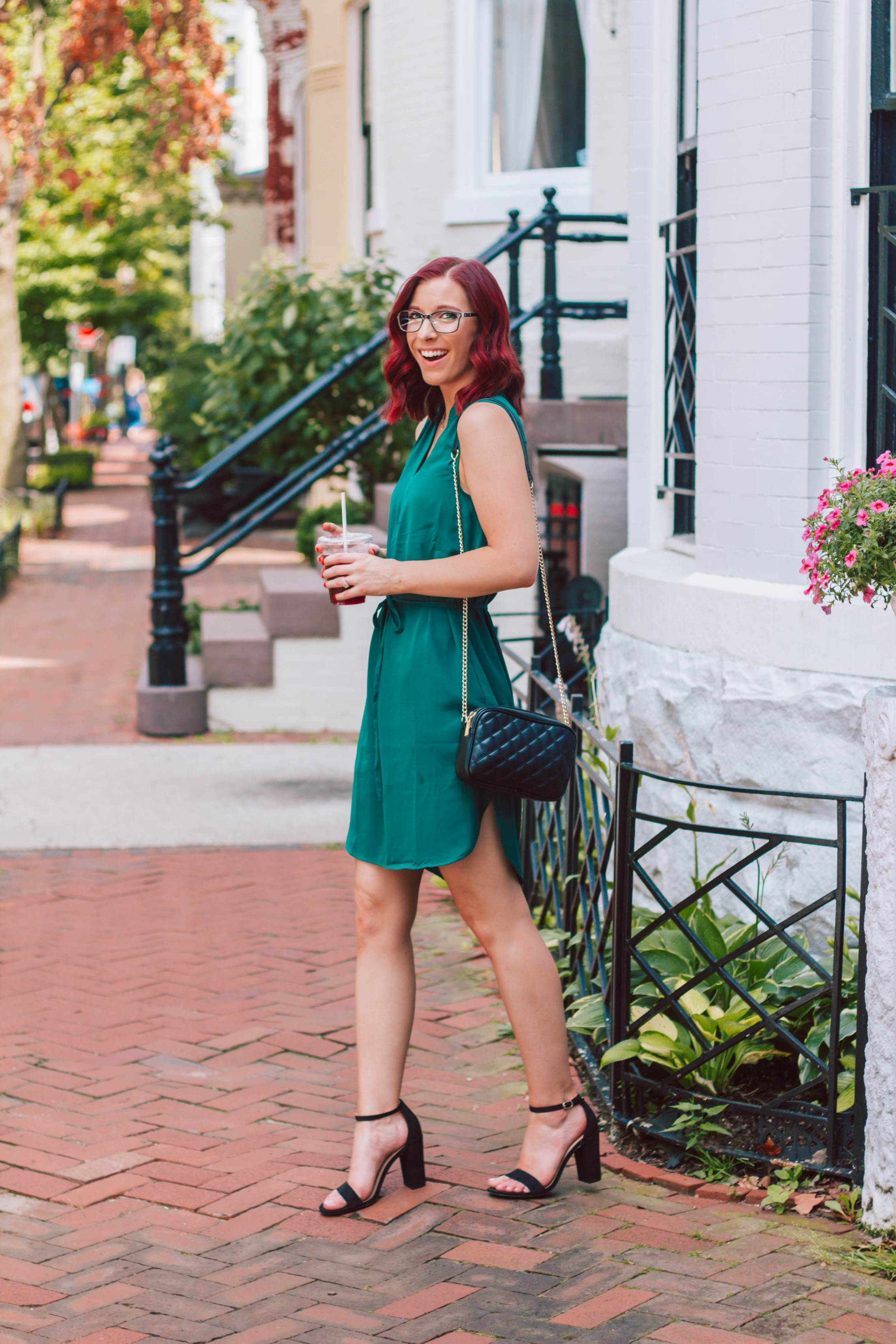 The Most Flattering Transitional Shift Dress