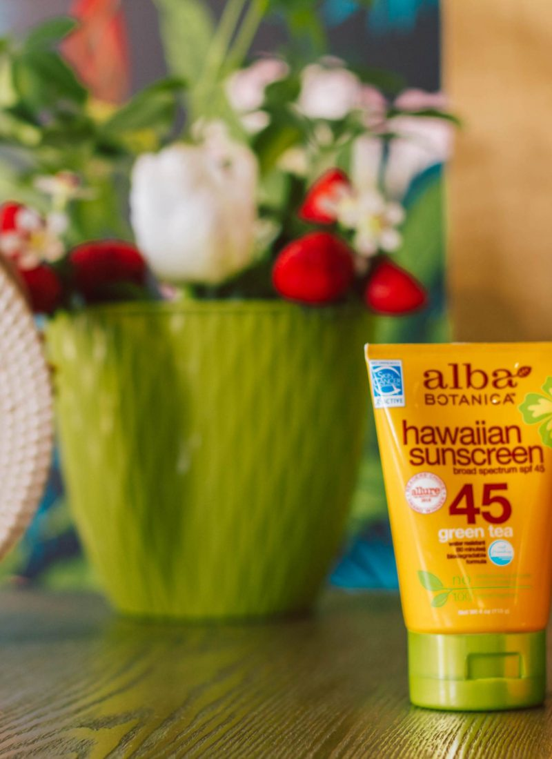 Year-Long Sun Protection with Alba Botanica