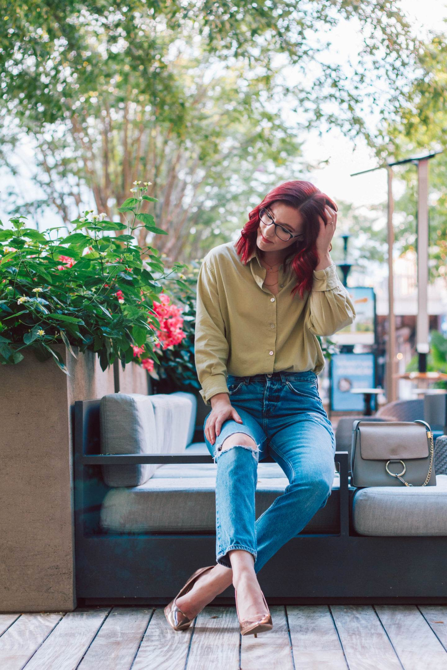 The Perfect Casual Friday Outfit Idea for Fall | She Saw Style