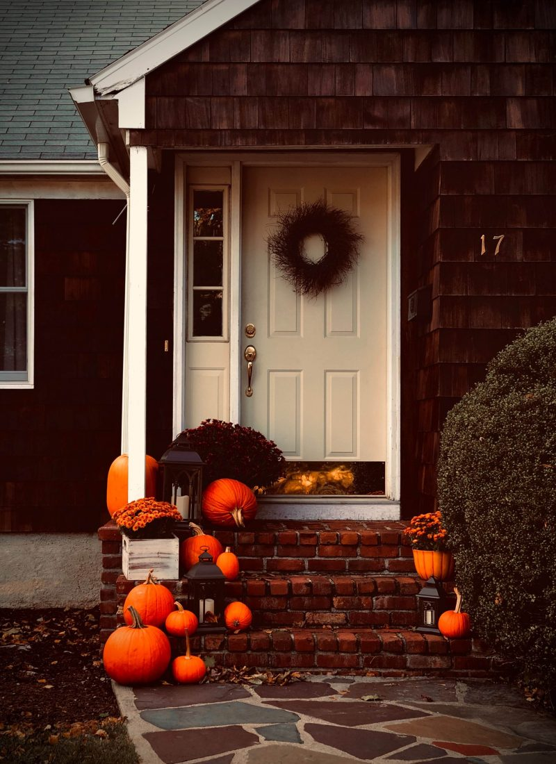 How to Decorate Your Front Porch for Fall | She Saw Style