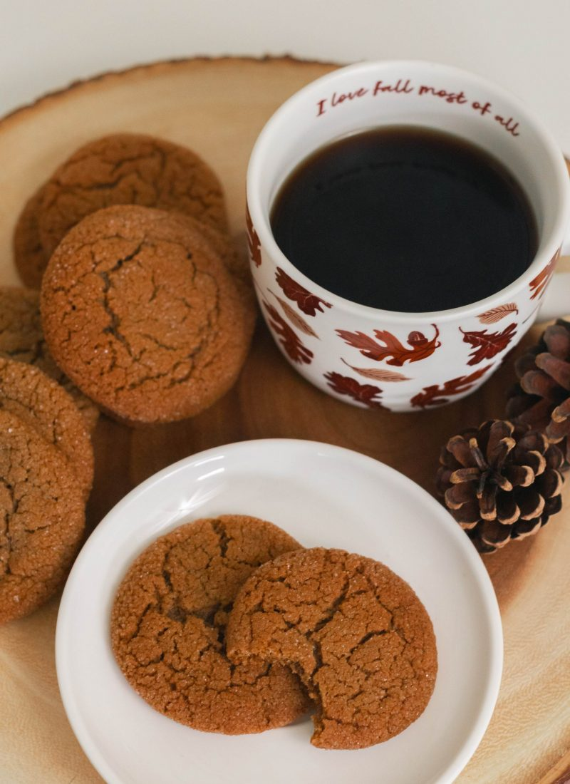 The Best Soft and Chewy Molasses Cookies Recipe