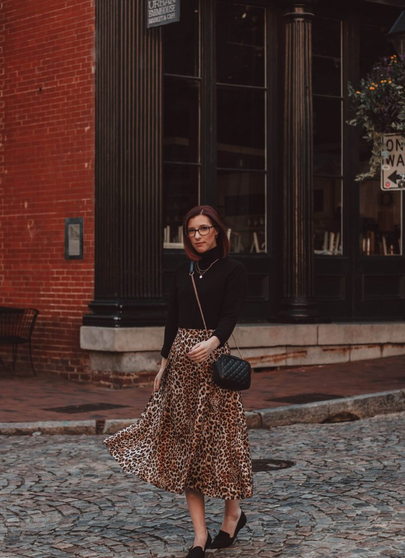 How to Dress Up Cheetah Print for Fall
