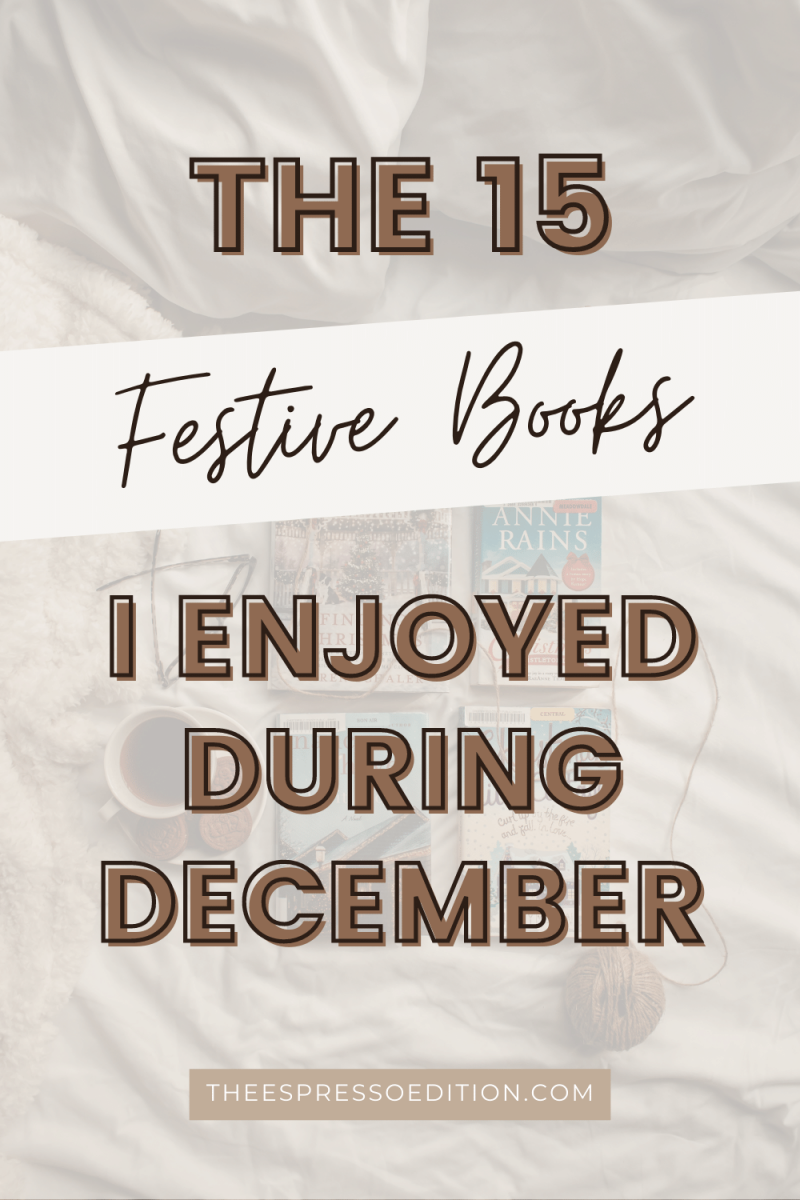 The 15 Books I Read in the Month of December | The Espresso Edition