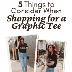 Style: 5 Things to Consider When Shopping for a Graphic Tee at theespressoedition.com